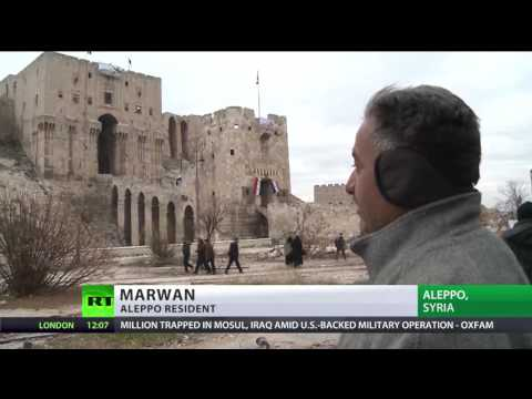 'The people of Aleppo are alive': Breathing life back into ruined city