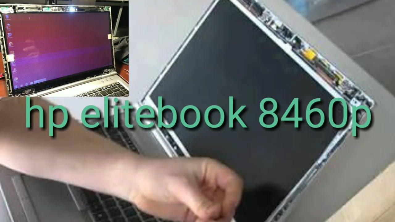 Hp elitebook 8460p laptop lcd screen solution in flash light blinking  problem