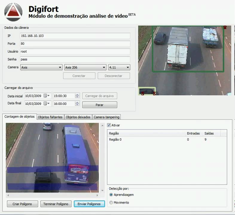 Total Car count with Ip camera and OpenCV