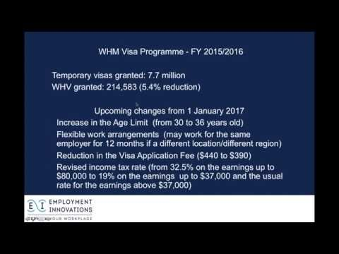 Truths and Myths about the Working Holiday Visa Programme