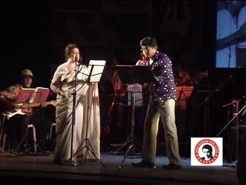 AMIT KUMAR SINGS WITH SABITA CHOWDHURY IN A FOR K CONCERT