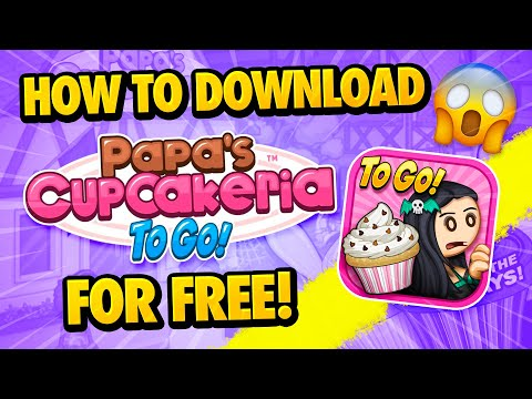 Papa's Cupcakeria To Go! Download - How To Download Papa's Cupcakeria To Go! For Free - Android/iOS
