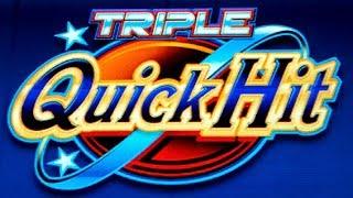 Triple Quick Hit Slot - GREAT PICK & BONUS - RETRIGGERS!