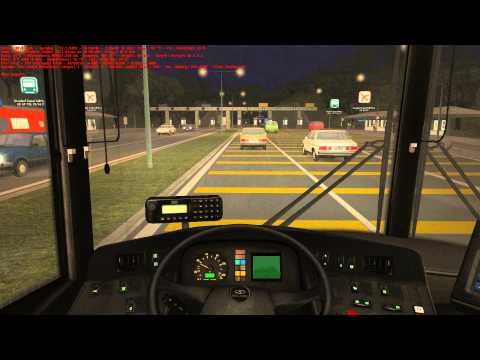 OMSI 2 Joyride #133 - Great Grundorf 2 - Route A4 Hong Shing Port - Airport - OMSI The Bus Simulator