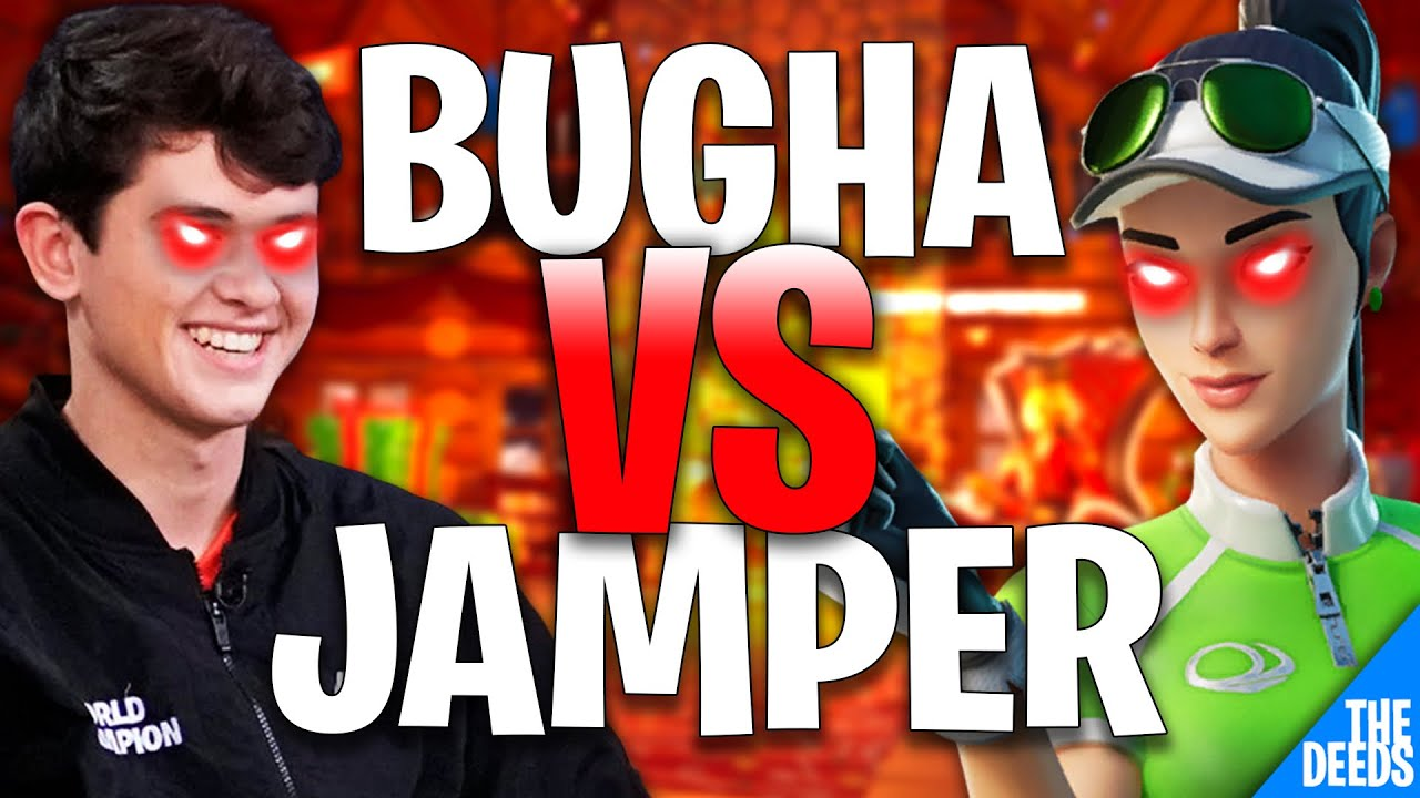 SEN Bugha 1 VS 1 Build Fight Jamper | Creative 1v1 *Chill NA Build Fights*