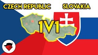 Reforming Czechoslovakia... with a 1v1   Rise of Nations [ROBLOX] ft. Arcueid_Corn (ROZAR)
