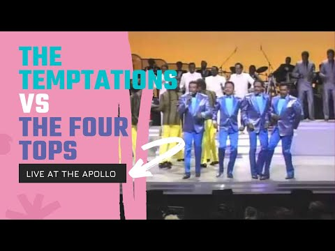 Motown Returns To the Apollo - The Temptations Vs. The Four Tops