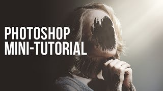 Photoshop Mini-Tutorial: Hollow Effect