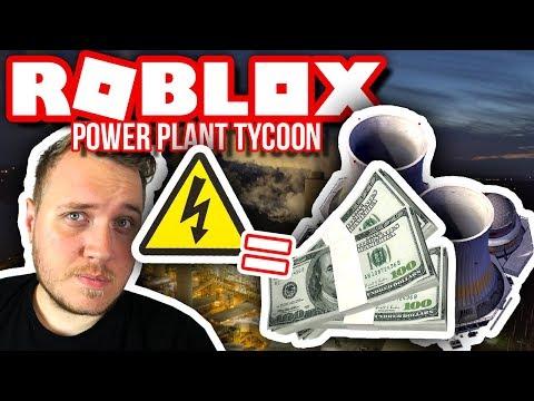 KRAFTVÆRKET DER SKAL GØRES OS RIGE! 🏭 :: Power Plant Tycoon - Dansk Roblox