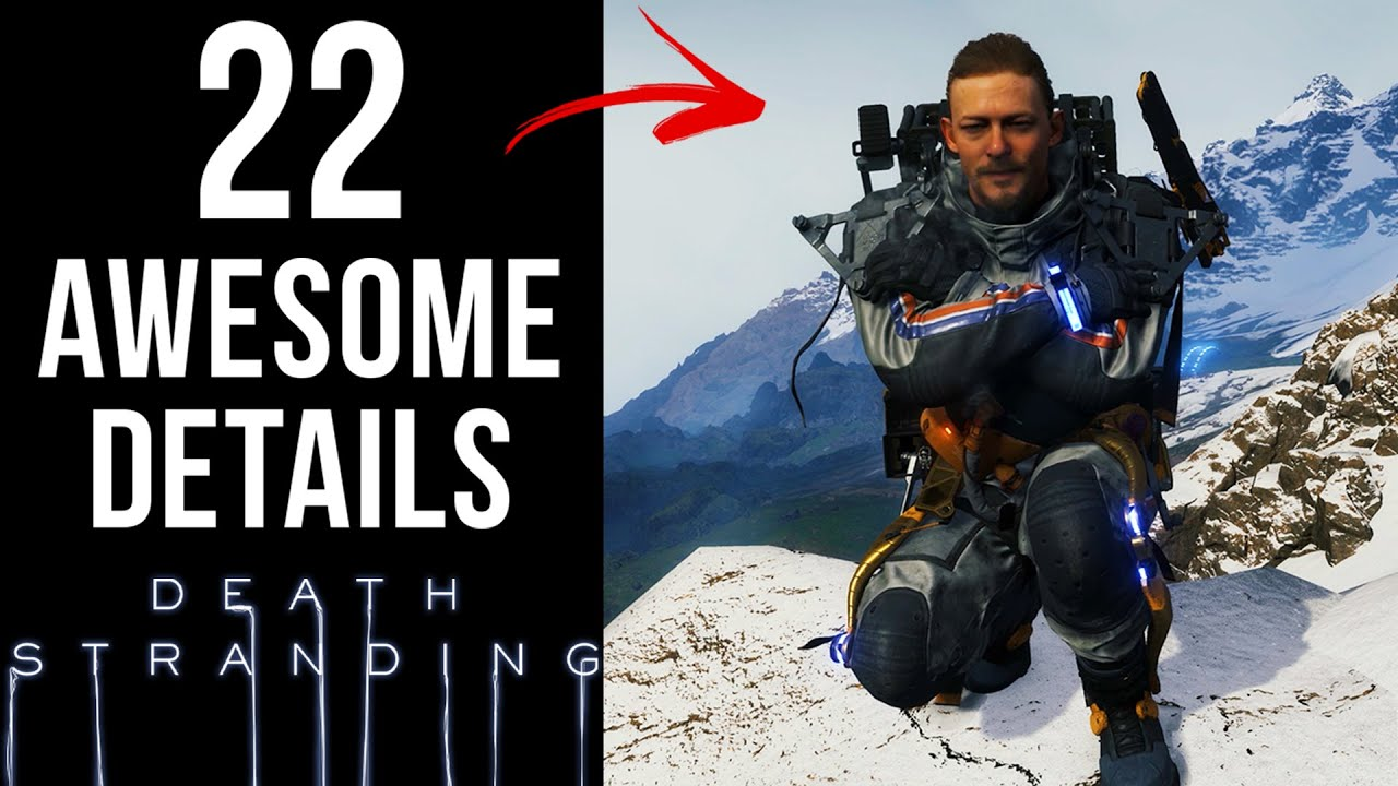 22 AWESOME Details in Death Stranding thumbnail