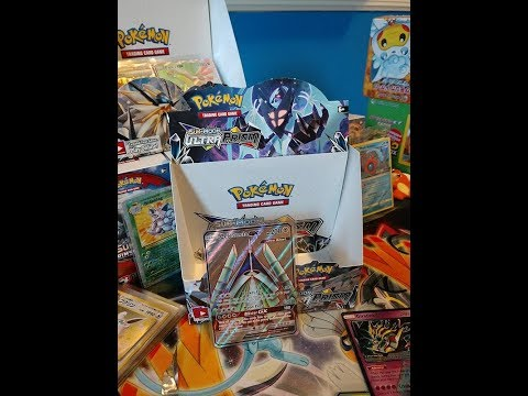 Ultra Prism Booster Box opening #2. Full Art