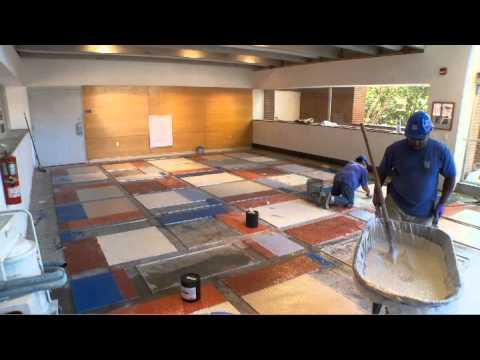 Terrazzo installation youtube solutioingenieria Gallery