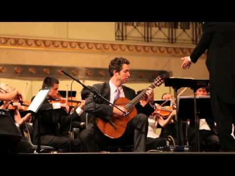 "Leo Brouwer Guitar Concerto No. 3 ""Elegiaco"" Movements 2 & 3 Zane Forshee"