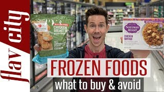 Frozen Food Review - Is There Anything Healthy In The Freezer Aisle?!
