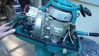 Neptun (нептун-м) 20hp from 1972 - Soviet/Russian Made Outboard Motor