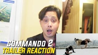 Commando 2 Trailer  Reaction | Vidyut Jammwal | Adah Sharma | Esha Gupta | By Stageflix