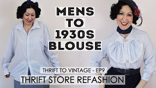Refashion a Thrifted Men