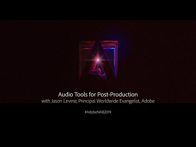 Audio Tools for Post-Production | Adobe Creative Cloud