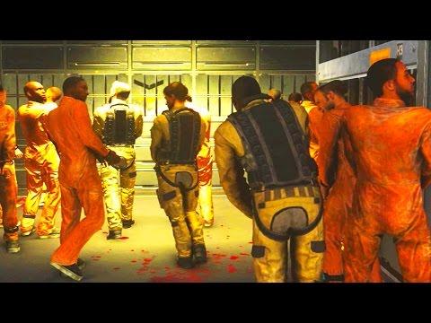 CoD Advanced Warfare: Atlas Prison Camp