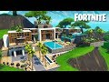 Download Incredible Luxury Mansion - Fortnite Timelapse Build in Creative