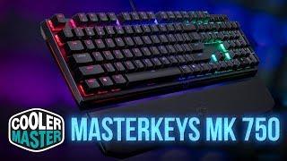 Обзор клавиатуры Masterkeys MK 750 от Cooler Master