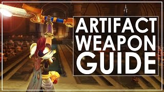WoW Legion: Guide To Artifact Weapons & Farming Artifact Power & Alt Catch Up