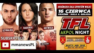 Zapowiedź Thunderstrike Fight League 14: Akpol Night