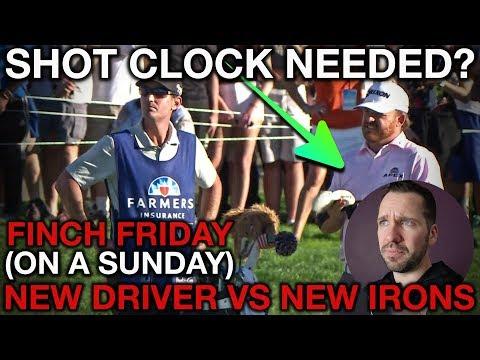 SHOT CLOCKS ON TOUR?? + New Irons vs New Driver