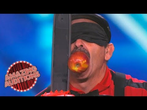 America's Got Talent 2015 - Most Dangerous Acts of the Year - Part 4