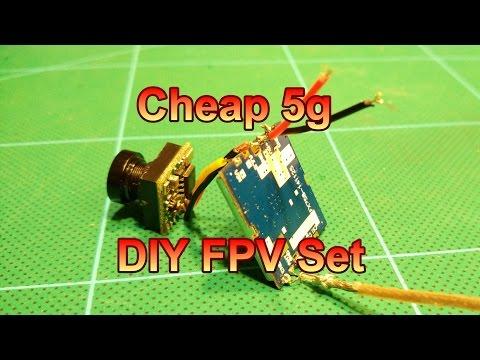 Cheap 5g DIY FPV Set