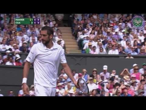 2016, Day 9 Highlights, Roger Federer vs Marin Cilic