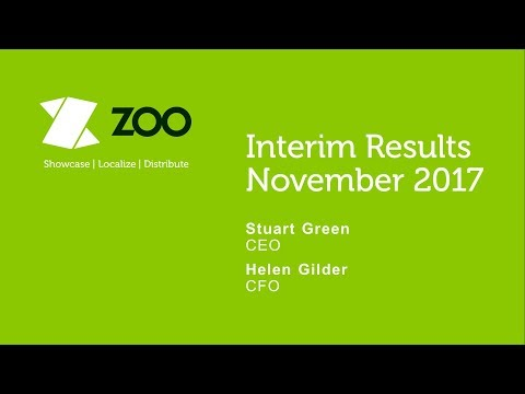 Zoo Digital (ZOO) Investor presentation H1 results November 2017