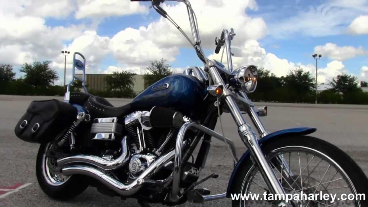 Used Harley Davidson Wide Glide