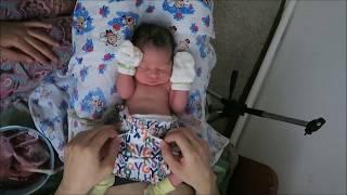 Влог родов 3. Как проходят реальные человеческие роды в домашних условиях. Первые часы жизни ребенка