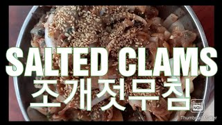 SALTED CLAMS…