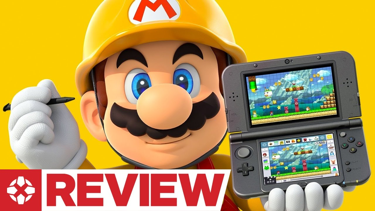 Download Super Mario Maker for Nintendo 3DS Review