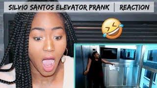 Canadian REACTS to Brazilian Prank Video by Silvio Santos (Elevator Prank)