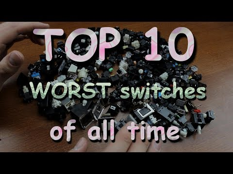 TOP 10 WORST mechanical keyboard switches of all time