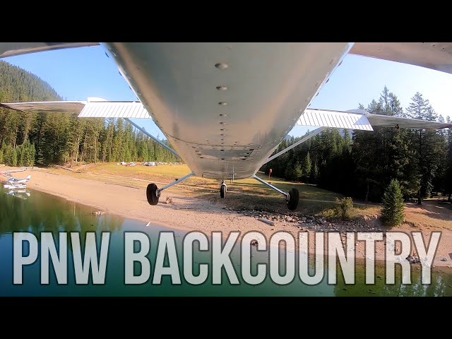 FINEST BACKCOUNTRY AIRSTRIP IN WASHINGTON