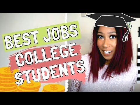 Best Jobs for College students | Part-Time