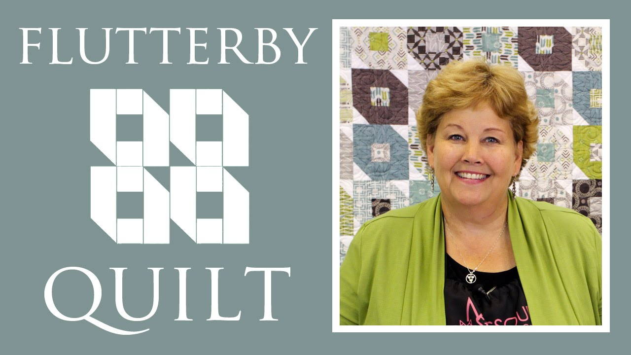 The Flutterby Quilt: Easy Quilting Project with Jenny Doan of ... : youtube quilting tutorial - Adamdwight.com