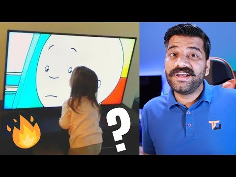 What Size TV Should You BUY?? TV Size Guide - TV Eye Problems👁📺👁
