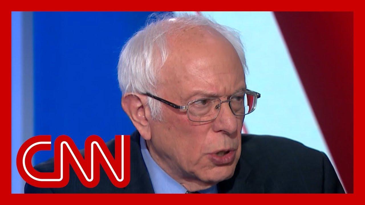 Sanders slams Trump's handling of the coronavirus outbreak