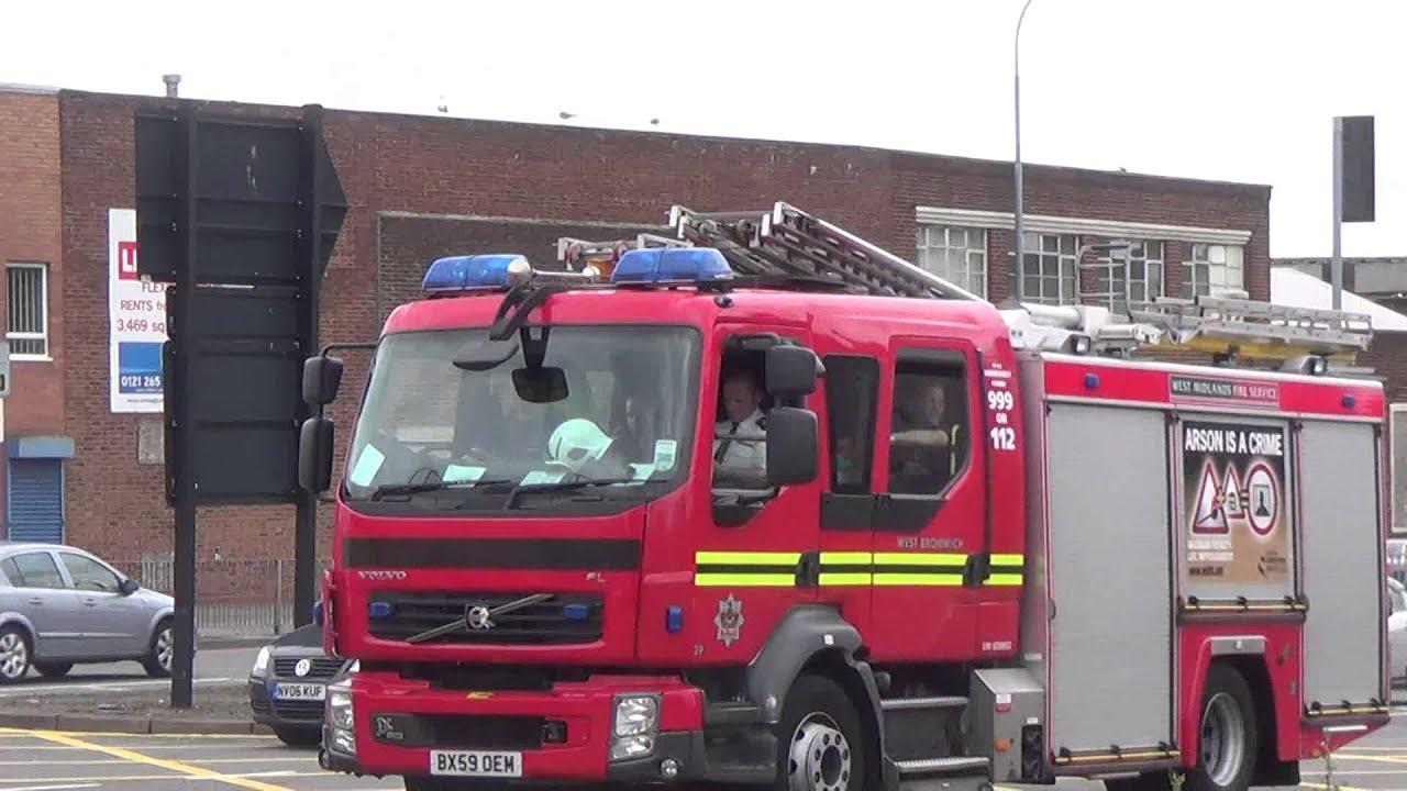 West Midlands Fire Service D839s D081 Pump Rescue Ladder