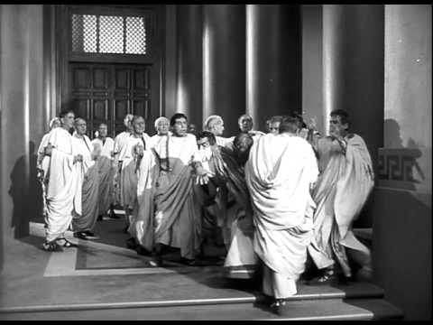 Julius Caesar Official Trailer #1 - James Mason Movie (1953) HD