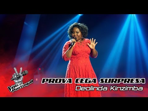 Deolinda Kinzimba - Prova Cega Surpresa - 'Primeira Vez'   Season 4