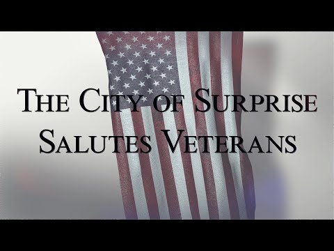 City of Surprise Virtual Veterans Day 2020 video thumbnail