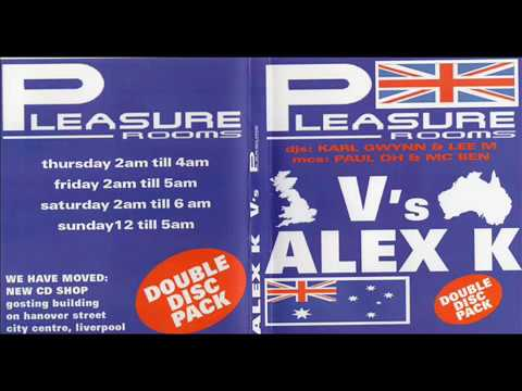Pleasure Rooms Vs Alex K 2005 CD 2