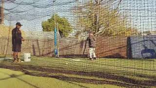 Kids Baseball batting Practice