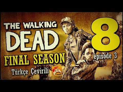 THE WALKING DEAD | Final Season Türkçe Altyazılı #8 Sorgulama (Episode 3)